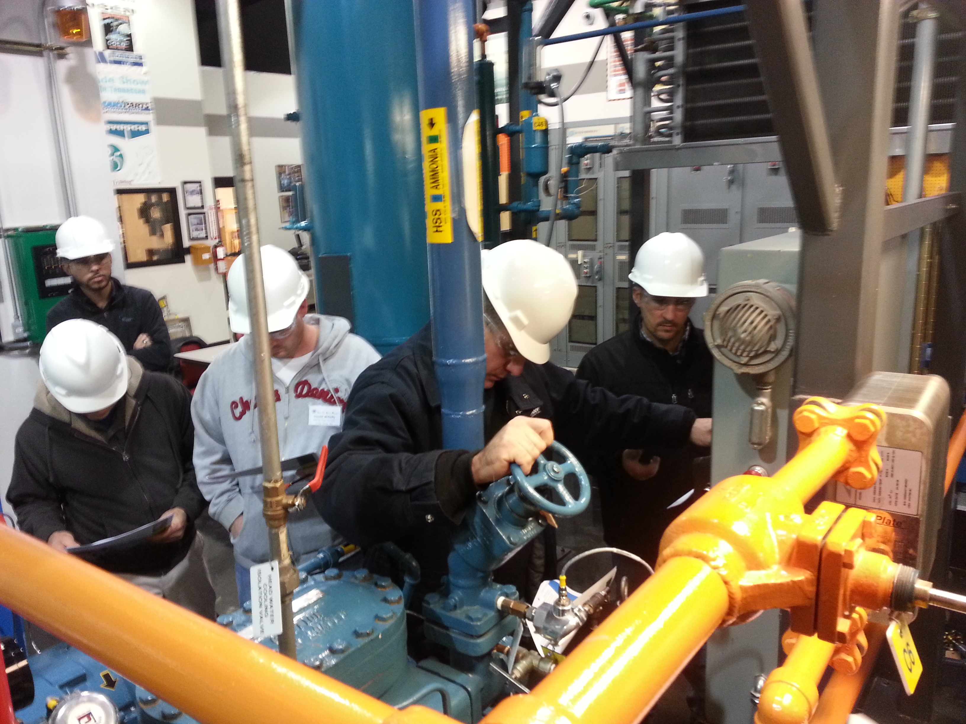 Garden City Ammonia Program: Ammonia Refrigeration Training