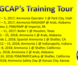 GCAP Training Tour